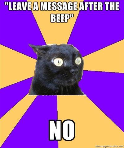 Anxiety Cat.