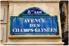 Kühlschrank MagnetAvenue des Champs-Élysées FRANKREICH vinyl Foto gut zu wissen