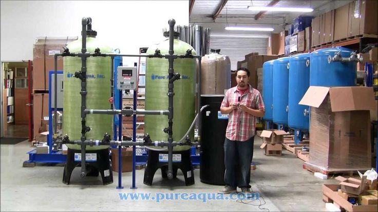 http://www.pure-aqua.com/water-softeners.html : Pura Aguamarina y suministramos Doble alterna ablandador de agua para una empresa de tratamiento de agua importante en Nicaragua. Su producen 30 GPM.