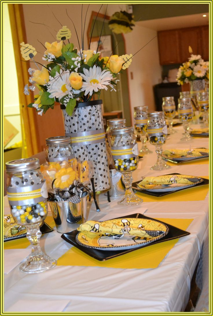 Bumble Bee Baby Shower Decor @ Dale Burke Miller And Gladys McClain