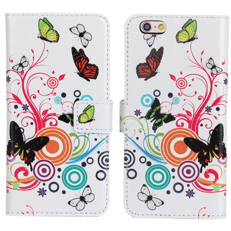 New Case - Apple iPhone 6 Butterflies and Flowers Designer Printed Wallet Case, $16.95 (http://www.newcase.com.au/apple-iphone-6-butterflies-and-flowers-designer-printed-wallet-case/)