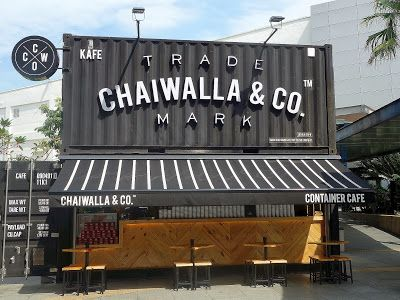 Eat Drink KL: Chaiwalla & Co Container Cafe @ The Curve