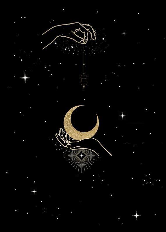 A Star Is Born Brilliant Carbon Moon Stars Art Moon Art Star Art