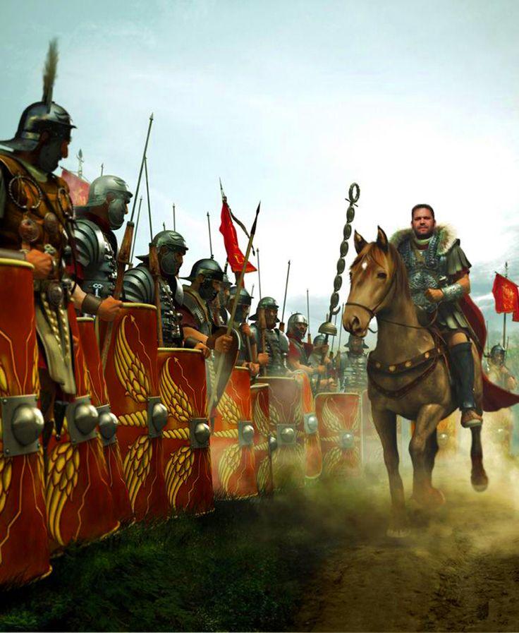 Roman Legion in Germania