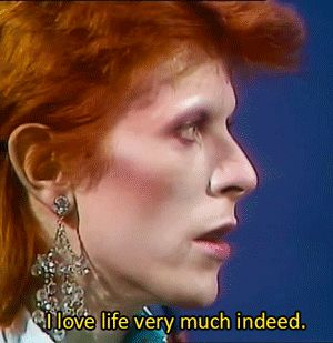 """trustmeimthetrickster: """" David Bowie interviewed by Russell Harty in 1973 (x) """""""
