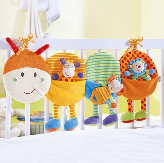 To hang in the playard to hold toys. No caterpillar legs needed