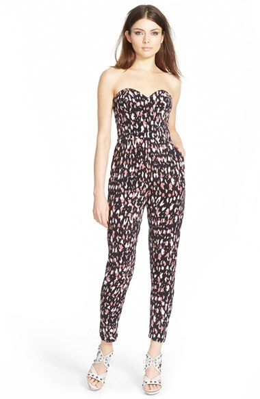Lovers + Friends 'Dakota' Animal Print Jumpsuit | Nordstrom
