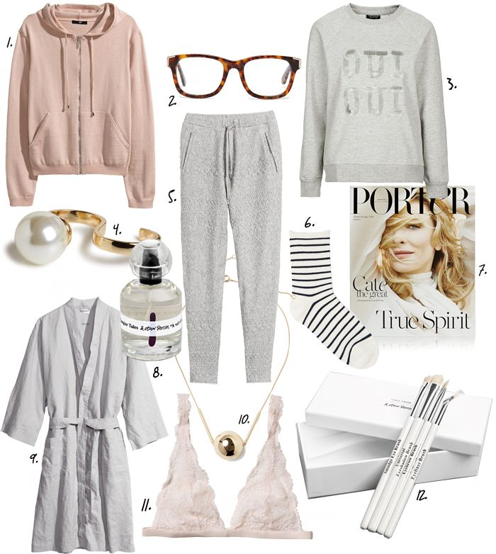 Cozy lounge outfit ideas