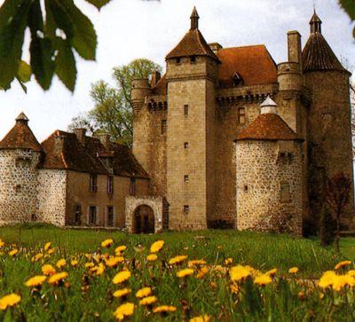 Chateau de Villemonteix, France