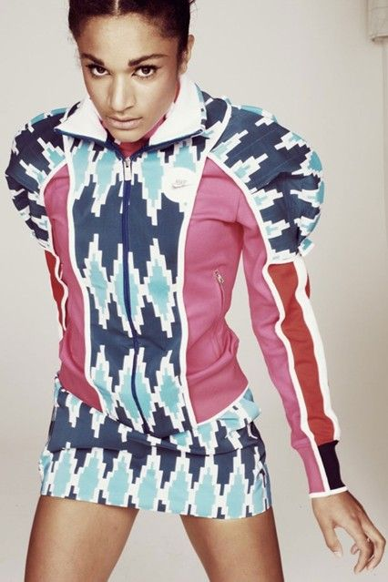 Julian J Smith designs for athlete Jodie Williams nike