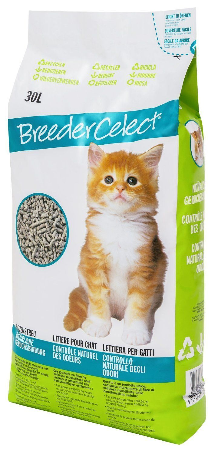 Breeder Celect Cat Litter 30L Click on the image for