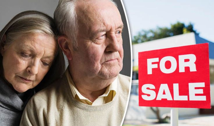 Older homeowners forced to sell properties to clear debt on mortgages
