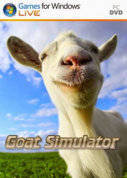 Download Goat Simulator (2014) Full PC Game is Simulator Games - Goat Simulator is an open-finished third-individual point of view amusement in which the player controls a goat