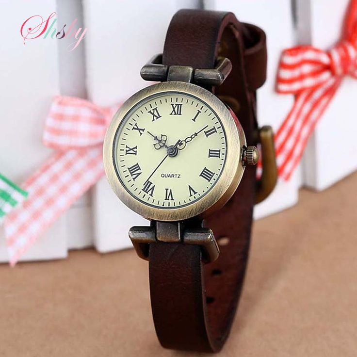 shsby New fashion hot-selling leather female watch ROMA vintage watch women dress watches | Price: US $3.63 | http://www.bestali.com/goto/32440215539/10