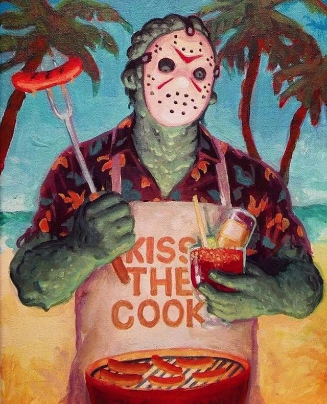 Jason Voorhees | Kiss the Cook
