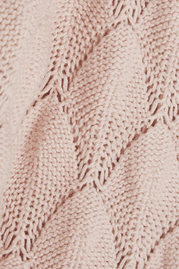 Pink See By Chloé Crocheted Cotton Mini Dress3