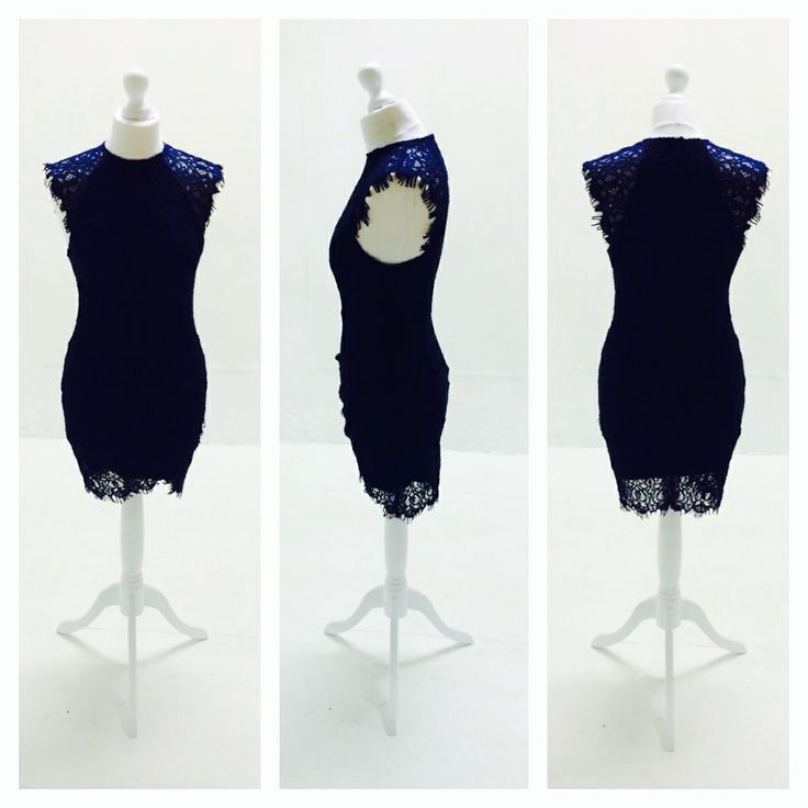 Naughty. Navy. www.thedressbox.co.uk