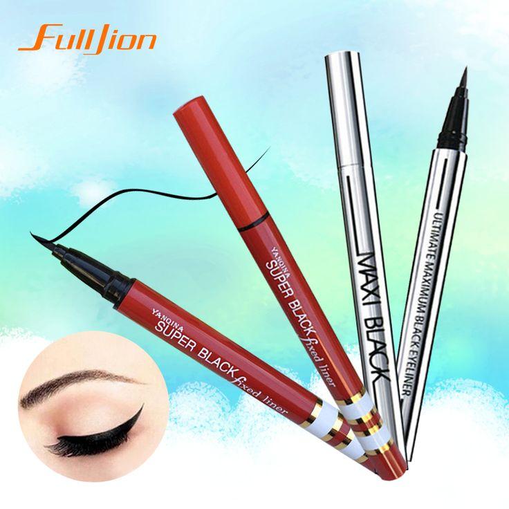 1 X MÁS NUEVO Señoras de Las Mujeres Extreme Negro Liquid Eyeliner Waterproof Marca Eye Liner Pencil Pen Maquillaje Herramienta de La Belleza CALIENTE