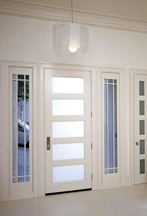 Settling In The City Showhouse Exterior Door Trustile Doors