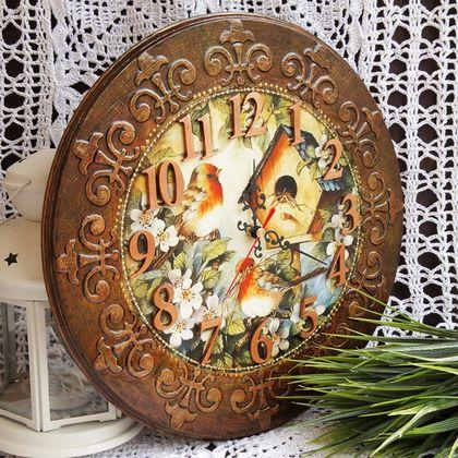 Часы для дома ручной работы. Ярмарка Мастеров - ручная работа Часы настенные…