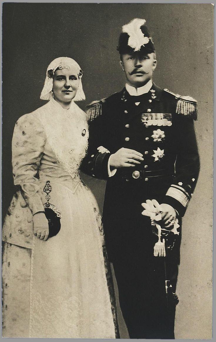 queen Wilhelmina in folklore of Friesland