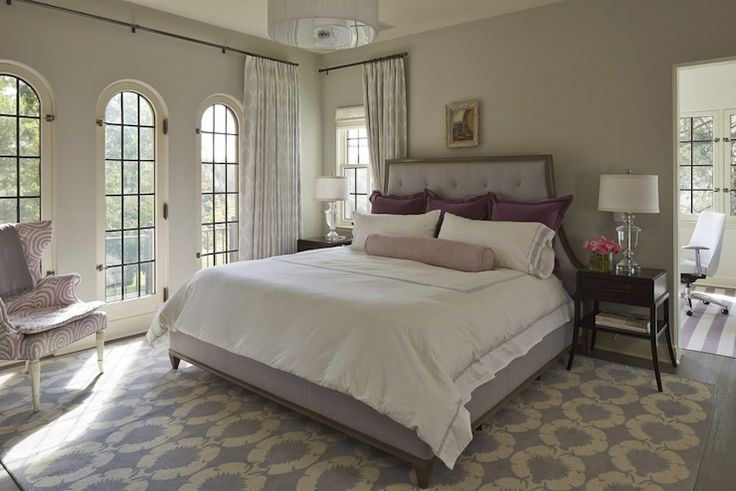 Martha O 39 Hara Interiors Bedrooms Benjamin Moore Gray Owl Gray Walls Gray Wall Color