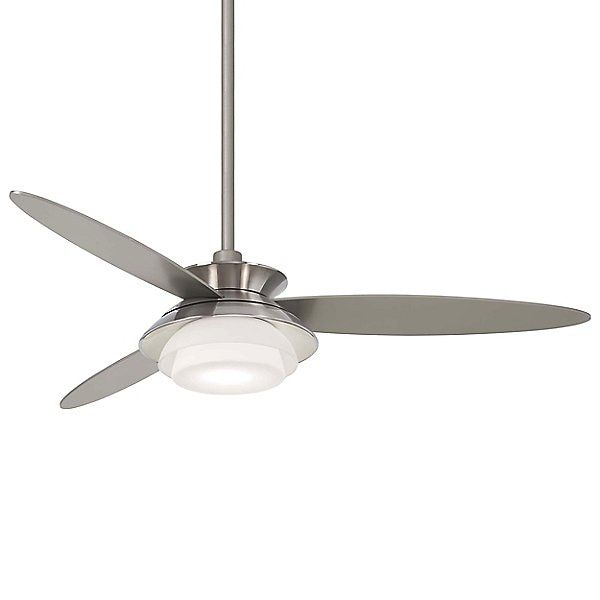 56 Stack Ceiling Fan By Minka Aire Color Metallics Finish
