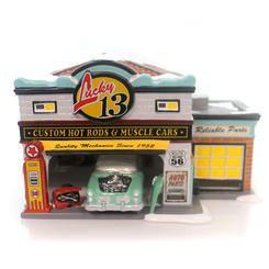 Department 56 4050985 Lucky 13 Garage