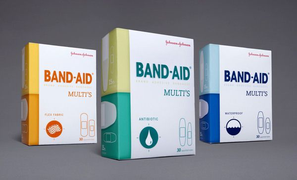 Band-Aid Multis by Stephanie Toole, via Behance