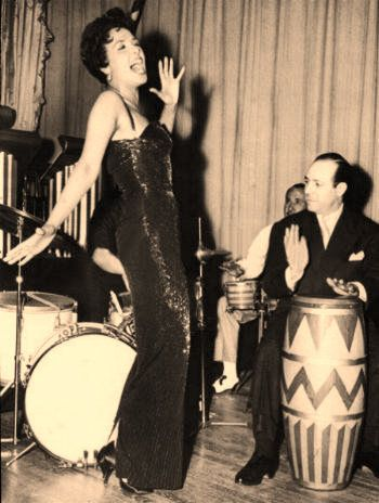 Lena Horne as a Jazz singer during the 1940s. Her artistic career continued for decades as a musician and actress. She joined the ancestors at the age of 92 on May 10, 2010. by Pan-African News Wire File Photos, via Flickr