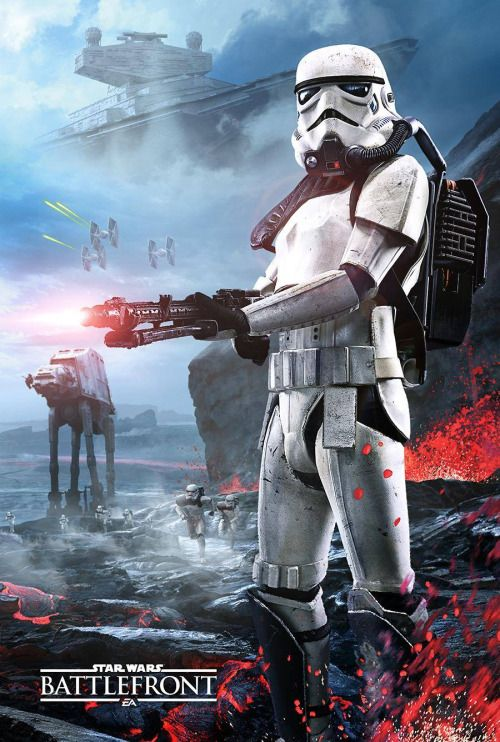 gamefreaksnz:   Gamestop exclusive Star Wars Battlefront poster... #LoveArt - #Art #LoveArt http://wp.me/p6qjkV-1PW
