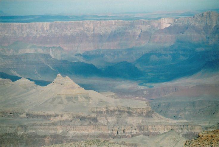 Река (Гранд-Каньон, Аризона, январь 2009)