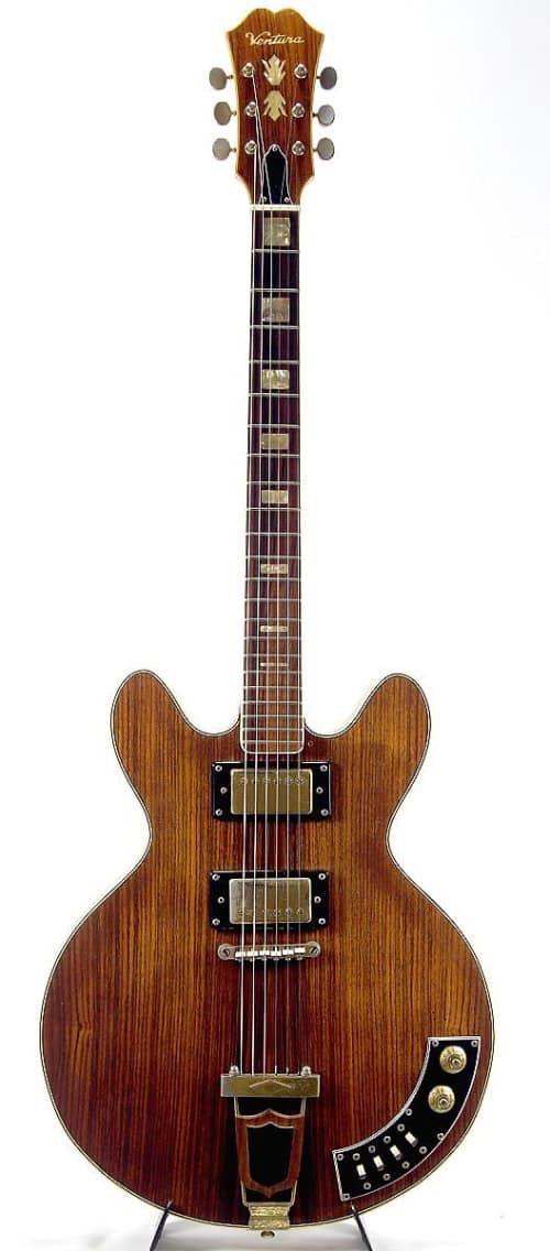 Ventura Hollow Body Electric Guitar (made in Japan) https://reverb.com/item/3504258-ventura-hollow-body-electric-guitar-made-in-japan