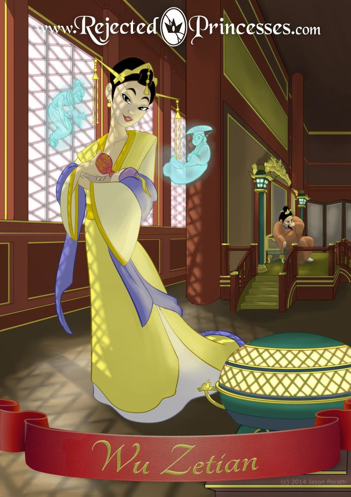 Wu Zetian this website is a list of rejected Disney princesses little morbid kind of interesting...