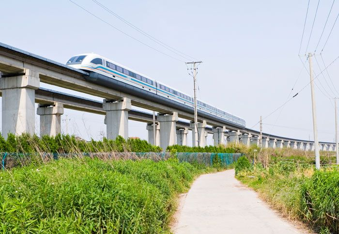 why the maglev magnetic levitation train Practical applications of magnetic levitation technology, final report 3 in new york of a model maglev train, with the hopes of exciting investors with the promise.