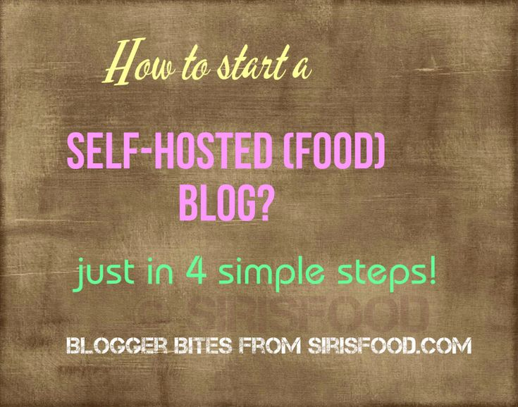 Starting your own food blog is simple with this HOW TO START A FOOD BLOG-4-step tutorial.Get started now and be proud of your blog.Get creative and build your own online brand!