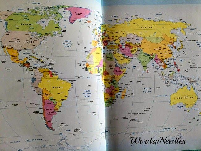 atlas in business diaries can teach your child about the world