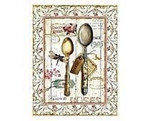 Placa Decorativa Spoon - 30x39cm