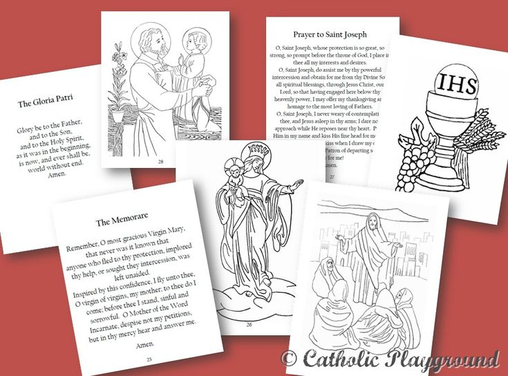 stations of the cross booklet - Father Coloring Page Catholic