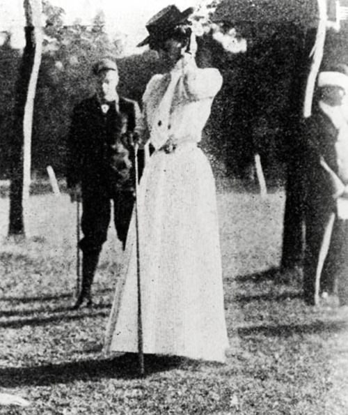 Margaret Ives Abbott! Born June 15, 1878, Abbott became the first American woman to nab first place at an Olympic event – in this case, the women's golf tournament in Paris in 1900, shooting 47 for nine holes.