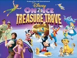 Both kids loved seeing Disney on Ice presents Treasure Trove - especially the scenes with Peter Pan and Tink!