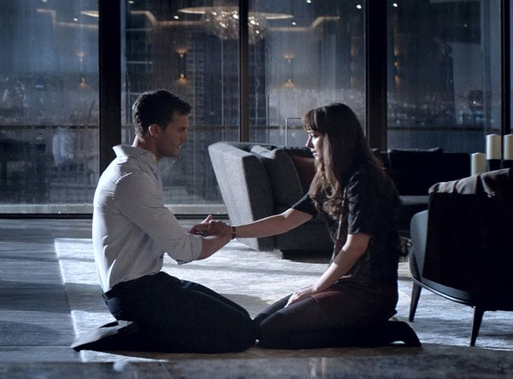 Take My Hand from Fifty Shades Darker: Sneak Peek  Anastasia Steele (Dakota Johnson) and Christian Grey (Jamie Dornan) share another tender moment.