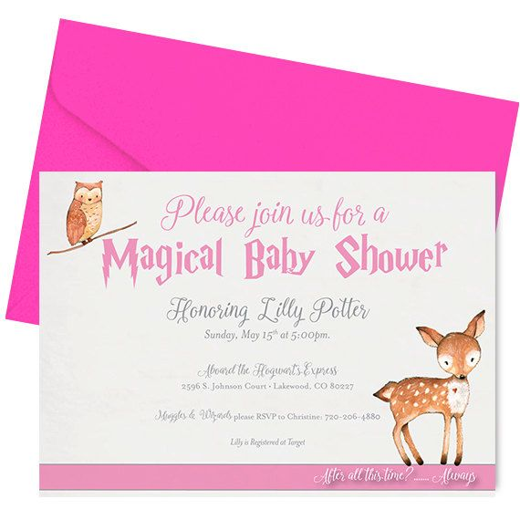 harry potter baby shower invitation harry potter baby shower invite
