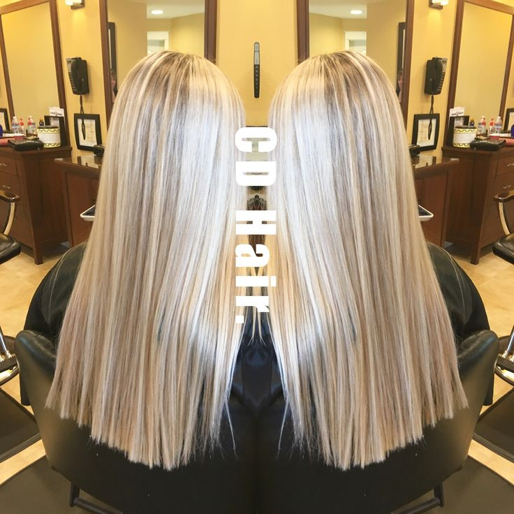 Platinum Blonde With Honey Lowlights By Cdhair Follow On