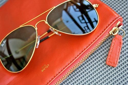 Celine and Ray Bans.