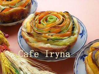 Сafe Iryna: Овощные кексы-спирали.