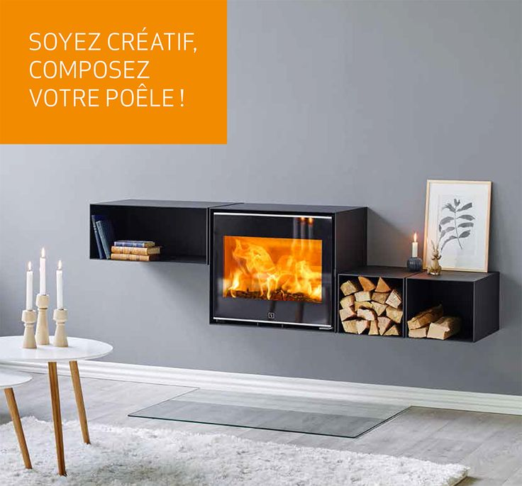1000 images about stoves po les bois on pinterest for Poele a bois contemporain