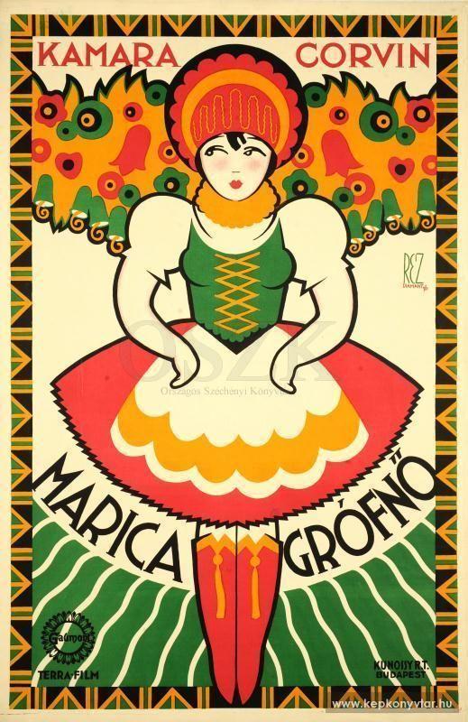 Réz Diamant Tibor - Marica grófnő, 1926