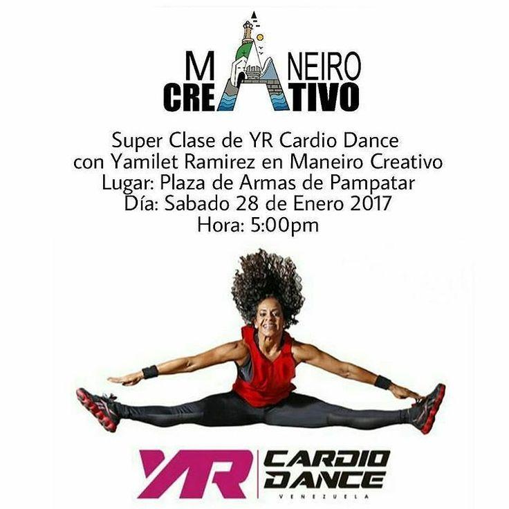 #HoyEnLaIsla Hoy tenemos para ti una super clase de #YRCardioDance con Yamilet Ramirez @yr_instructor a las 5:00pm #DeportesAlAireLibre  Luego te invitamos a que disfrutes realizar tus #ComprasAlAireLibre en el mejor ambiente de la isla en #ManeiroCreativo Variada #Gastronomia #Arte #Moda #DiseñoVenezolano #DeportesAlAireLibre #MusicaEnVivo Sorpresas rifas especiales y mucho mas espera por ti hoy y todos los Sabados en #Pampatar Te esperamos en la #PlazaDeArmas  #IslaDeMargarita…