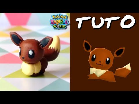 Tuto Fimo Evoli / Eevee (de Pokémon Rumble World)
